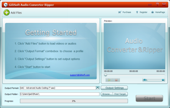 GiliSoft Audio Converter Ripper Free 5.1.23 full