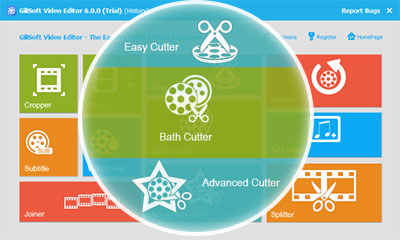 GiliSoft Video Editor screenshot