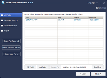 Freeware] Free Video DRM Protection | Add DRM Protection to