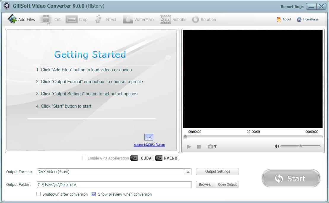 Resultado de imagen de GiliSoft Video Converter