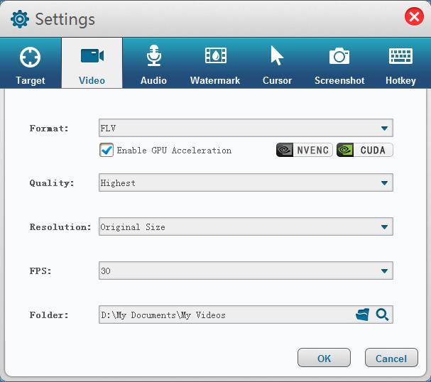 GiliSoft Video Recorder screenshot